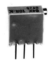 20 Turn Trimmer  Vertical w/ Side Adjust