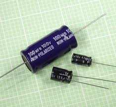 Non Polar NP Electrolytic Capacitors