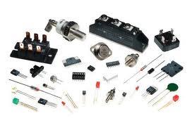 50K ohm Single turn 1/8 inch Screwdriver adjust locking shaft potentiometer, new old stock