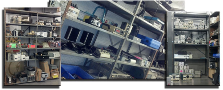 Surplus Electronic Test Equipment : Sell us surplus